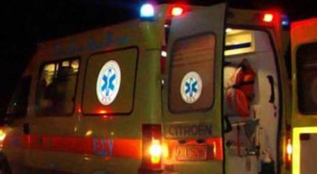 ΤΩΡΑ: Τραυματίστηκε οδηγός delivery στον Βόλο – Έπεσε από το μηχανάκι του