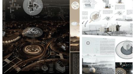 Φοβερές εμπνεύσεις από φοιτητές αρχιτεκτονικής για τους κόμβους του Βόλου