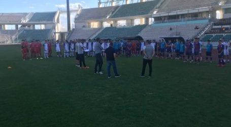 107 νεαροί ποδοσφαιριστές από όλη την Ελλάδα δοκιμάζονται στον Βόλο