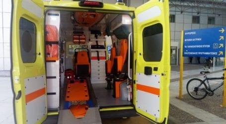Αυτοκίνητο συγκρούστηκε με φορτηγάκι στον δρόμο Ελασσόνας Βερδικούσιας – Σοβαρά τραυματίστηκε ένας 21χρονος
