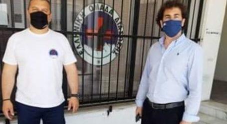 Ευχαρίστησε Κοπάνα η Ελληνική Ομάδα Διάσωσης Μαγνησίας