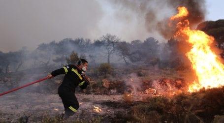 ΤΩΡΑ: Φωτιά στο Αερινό