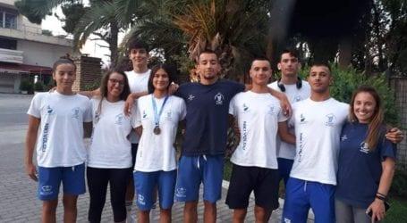 Πέντε τελικοί  και ένα χάλκινο μετάλλιο για την κολύμβηση  της Νίκης Βόλου  πρώτη ήμερα του Grand prix Akropolis