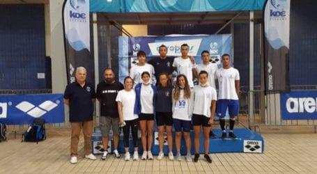 Συνέχεια εξαιρετικών εμφανίσεων με 10 συμμετοχές σε τελικούς και 3 ακόμη μετάλλια για την κολύμβηση της Νίκης Βόλου στο Grand prix Akropolis