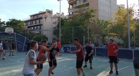 Μαθητικό Φεστιβάλ ΚΝΕ Λάρισας: Με επιτυχία το Τουρνουά Μπάσκετ στον Άγιο Αντώνιο