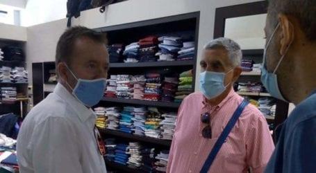 Κόκκαλης στην αγορά Λάρισας: «Αγωνία για την επόμενη ημέρα για τον μικρομεσαίο έμπορο»