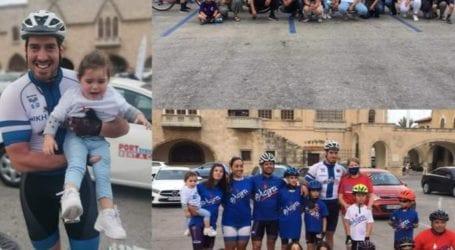 Με επιτυχία ο ποδηλατικός γύρος της Ρόδου από τον Άγγελο Κριτσιώτη