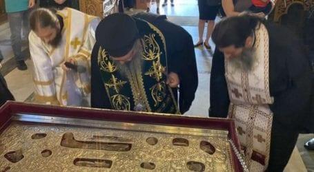 Ξεκίνησαν οι θρησκευτικές εκδηλώσεις για τον Πολιούχο της Λάρισας Άγιο Αχίλλιο (φωτο)