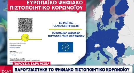 Ψηφιακό Πιστοποιητικό Covid: Πρεμιέρα 3 Ιουνίου -Ποιοι μπορούν να βγάλουν