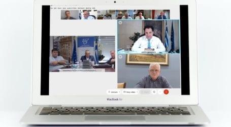 O B. Ζαχείλας στη γενική συνέλευση της Ένωσης Επιμελητηρίων Ελλάδας