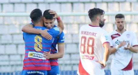 Ο Βόλος έριξε την ΑΕΛ από τη Super League – Της επιβλήθηκε με 3-1