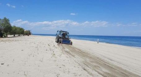 Δήμος Τεμπών: Φροντίδα για τις παραλίες Αιγάνης, Μεσαγκάλων, Λουτρού και Κουλούρας