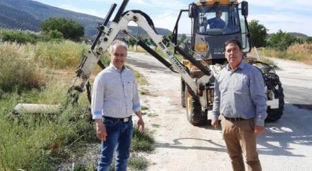 Συνεχίζονται οι εργασίες κοπής χόρτων και κλαδέματος στο Δήμο Τεμπών