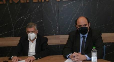 Ο Γ.Γ. Οικονομικής Πολιτικής Χ. Τριαντόπουλος στη Λάρισα: «Αυτά τα μέτρα υλοποιούμε για τους πληγέντες από ΙΑΝΟ και σεισμό»
