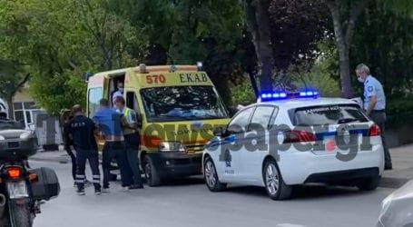 Βόλος: Τροχαίο με δύο τραυματίες στη Γρ. Λαμπράκη [εικόνες]