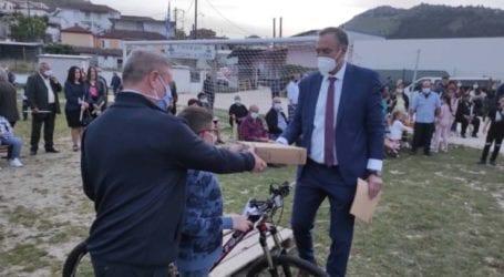 Δήμος Τυρνάβου: Δώρα υψηλού συμβολισμού στο Δαμάσι