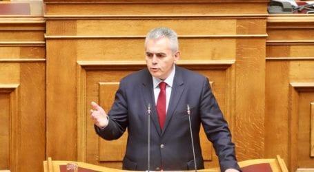 Χαρακόπουλος: Άδικη η εξαίρεση δασεργατών από την αποζημίωση ειδικού σκοπού