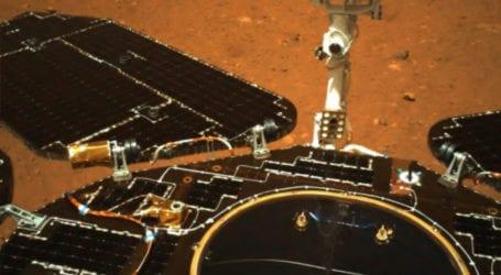 Άρης: Το κινεζικό ρόβερ κινήθηκε για πρώτη φορά πάνω στην επιφάνεια του πλανήτη