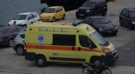 Στον Βόλο από τη Σκόπελο 25χρονος μετά από τροχαίο ατύχημα