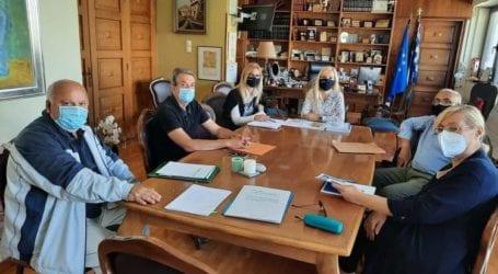 Σύσκεψη Δωροθέας Κολυνδρίνη με φορείς των Δασικών Υπηρεσιών