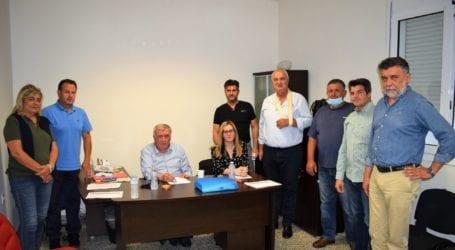 Ξεκίνησαν οι συναντήσεις του Θανάση Νασιακόπουλου με τους προέδρους Κοινοτήτων της ΔΕ Πλατυκάμπου