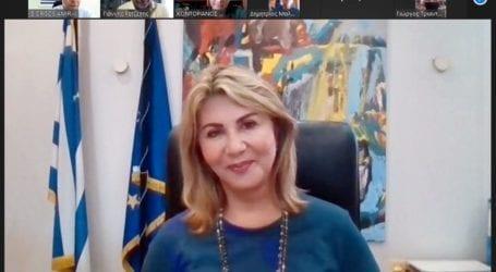 Η Ζέττα Μακρή και ο Γιώργος Αμυράς σε τηλεδιάσκεψη με το Σωματείο Θηροφυλάκων