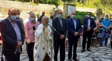 Επίσκεψη Θ. Λιούπη στη Ζαγορά – Συμμετείχε σε εκδήλωση για τον Ζαγοριανό Ιερολοχίτη Ρήγα Πάντο
