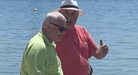 Στη Σκιάθο με Μπέο Μελισσανίδης και Κοπελούζος – Επισκέφθηκαν το La Isla στον Τσουγκριά [εικόνες]