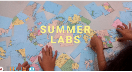 TALOS: Θερινά εργαστήρια για παιδιά Νηπιαγωγείου-Δημοτικού