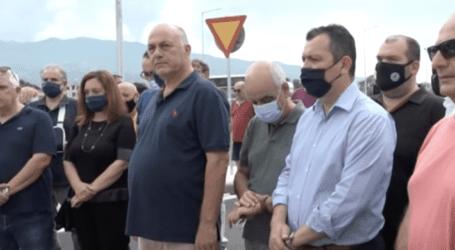 Στο πλευρό του Μπέου ο Μπουκώρος στα εγκαίνια του κυκλικού κόμβου – Το μήνυμα της Κυβέρνησης