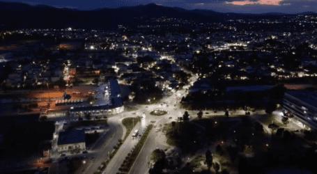 Βραδινή βόλτα στους κυκλικούς κόμβους του Βόλου – Εναέρια πλάνα