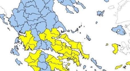 Υψηλός κίνδυνος πυρκαγιάς στη νοτιοδυτική Μαγνησία αύριο Τετάρτη