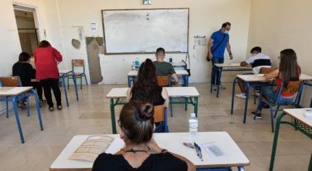Μαγνησία: Στο 82,48% η συμμετοχή στις πανελλαδικές των υποψηφίων των ΕΠΑΛ