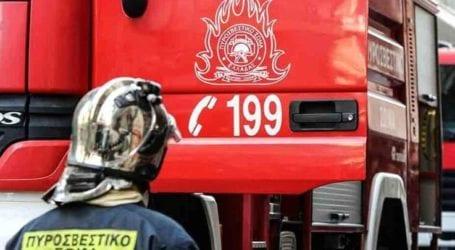 Λάρισα: Στις φλόγες θεριζοαλωνιστική μηχανή σε Άγιο Γεώργιο-Δοξαρά – Φωτιά σε αγροτική έκταση και στη Χαρά