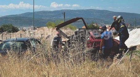ΤΩΡΑ: Σοβαρό τροχαίο ατύχημα στον Βόλο – Ένας εγκλωβισμένος και τρεις τραυματίες [εικόνες και βίντεο]