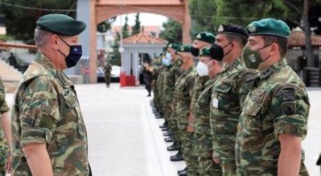 Βόλος: Καρέ – καρέ Επίσκεψη Φλώρου στην 32η Ταξιαρχία Πεζοναυτών
