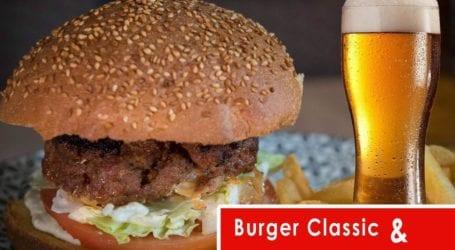 Απόλαυσε το αγαπημένο σου burger & την draft μπίρα σου στο pleasures seaside cafe + more