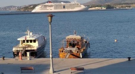 «Έδεσε» ξανά στο λιμάνι του Βόλου το κρουαζιερόπλοιο Europa2