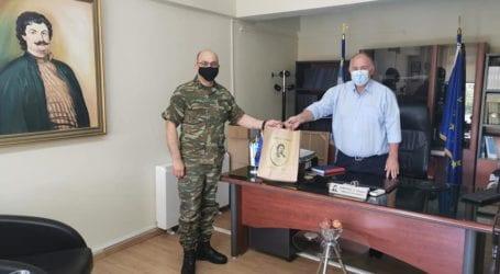 Με τον διοικητή του 304 ΠΕΒ συναντήθηκε ο Δ. Νασίκας