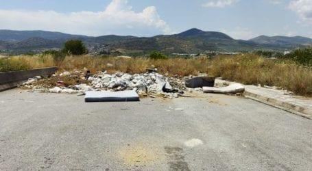 Βόλος: Έκαναν τον περιφερειακό… χωματερή