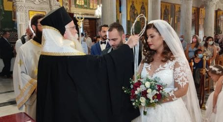 Βόλος: Ανέβηκαν τα σκαλιά της Εκκλησίας η Αγ. Κουτσούκου και ο Δ. Περεντίδης [εικόνες]