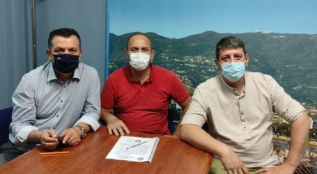Συνάντηση Μπουκώρου με μέλη της Πανελλήνιας Ομοσπονδίας Πυροσβεστών