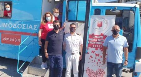 Βόλος: Μεγάλη συμμετοχή στην εθελοντική αιμοδοσία του Συλ. Πασχόντων από μεσογειακή αναιμία