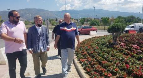 Βόλος: Τις εργασίες του νέου κυκλικού κόμβου επέβλεψε ο Αχιλλέας Μπέος [εικόνες και βίντεο]