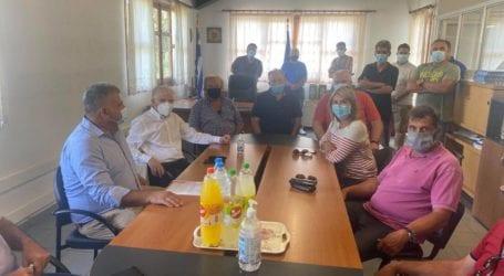 Αγροτικός Σύλλογος Ζαγοράς: Καμία λύση από την επίσκεψη Λυκουρέντζου