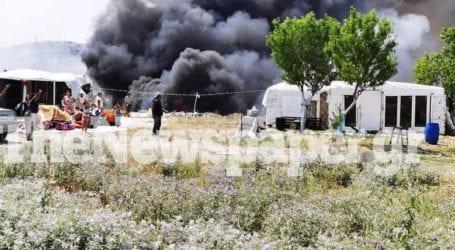ΤΩΡΑ: Φωτιά στο Αλιβέρι – Επιχείρηση Πυροσβεστικής και Αστυνομίας
