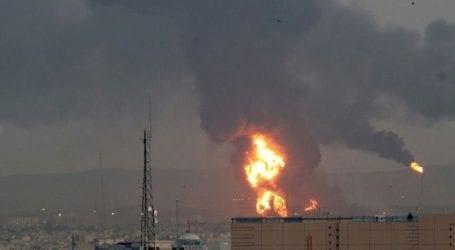 Πυρκαγιά σε διυλιστήριο στην Τεχεράνη