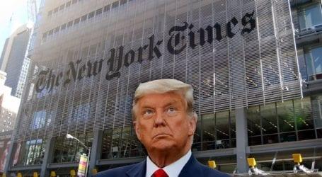 Η κυβέρνηση Τραμπ υπέκλεψε τις τηλεφωνικές συνομιλίες δημοσιογράφων των New York Times