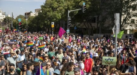 Gay Pride με ισχυρή αστυνομική παρουσία στην Ιερουσαλήμ