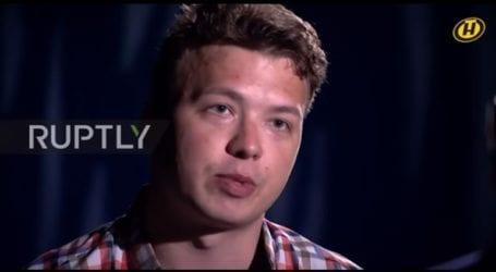Το Βερολίνο και το Λονδίνο καταγγέλλουν τη συνέντευξη του Προτασέβιτς στην κρατική λευκορωσική τηλεόραση